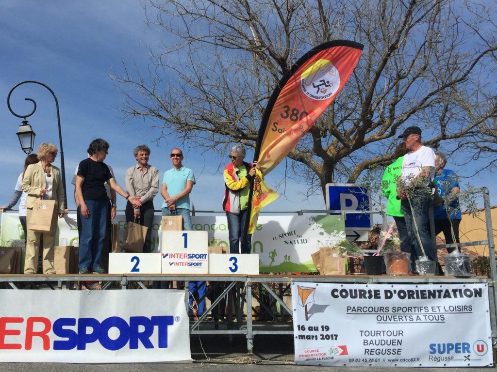 Un podium pour le club 3809ar !